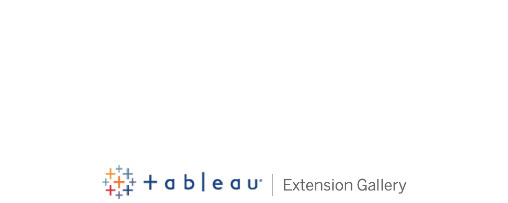 Tableau Extensions Gallery logo