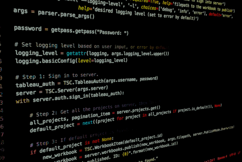 Schema van Tableau Server REST API.