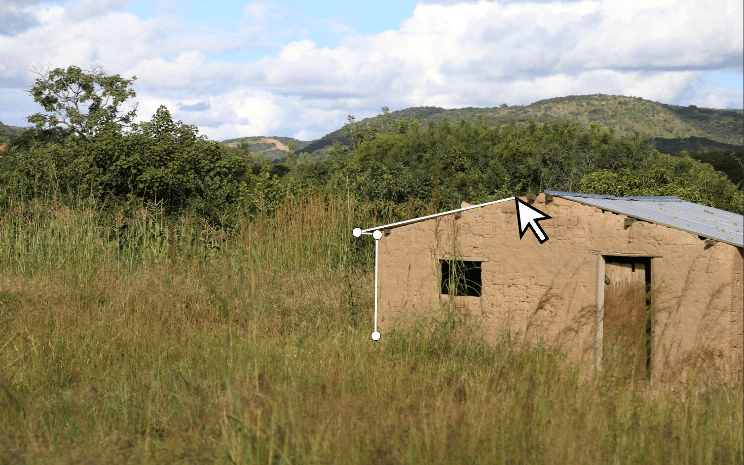 Rural structure, Southern Province, Zambia