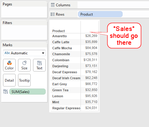 The One-Click Trick to Creating Headers for Single-Measure Tables ...