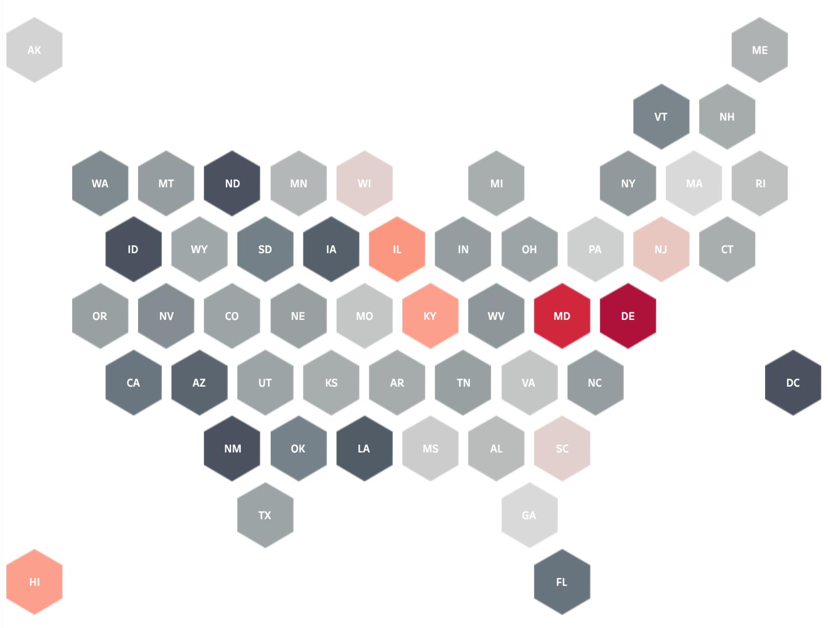 Hex Tile Maps Help Eliminate The Alaska Effect