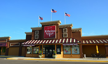 Picture of the flagship Kilwins store in Petoskey, Michigan