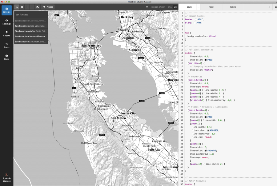 How to Make (and Save!) a Custom Mapbox Map for Your Viz