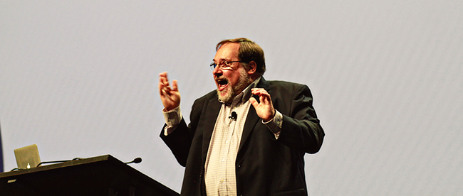 Dr. John Medina at the 2012 Tableau Customer Conference