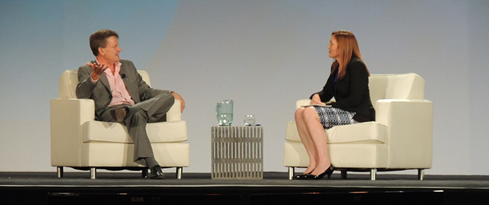 Michael Lewis keynote interview