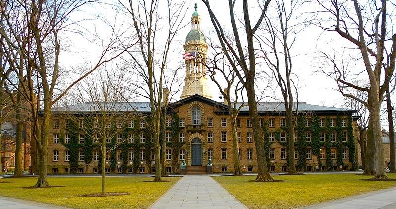 Princeton University's Nassau Hall