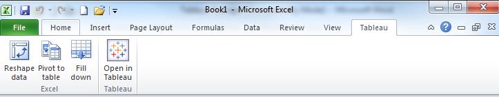 Excel Reshaper