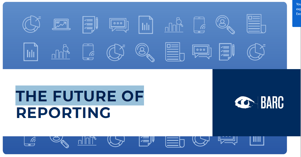 Data Analytics - Future of Reporting
