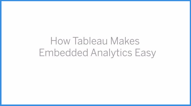 Powered by Tableau | Create  Embed  Grow | Tableau Software