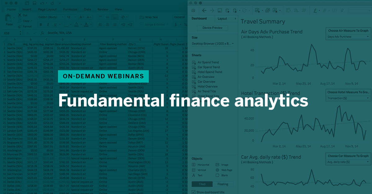 Finance Analytics: Financial data analysis made simple