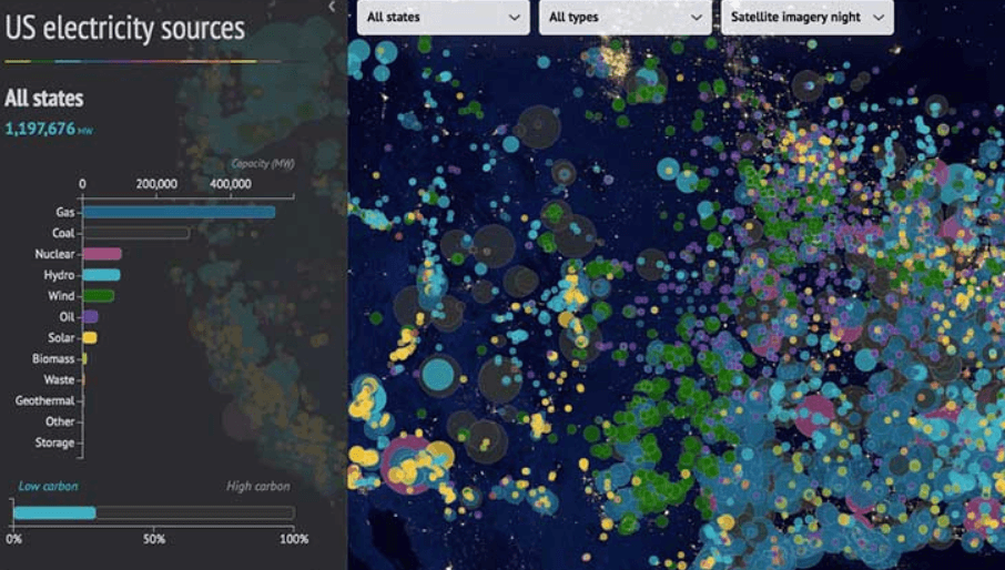 10 interactive map and data visualization examples