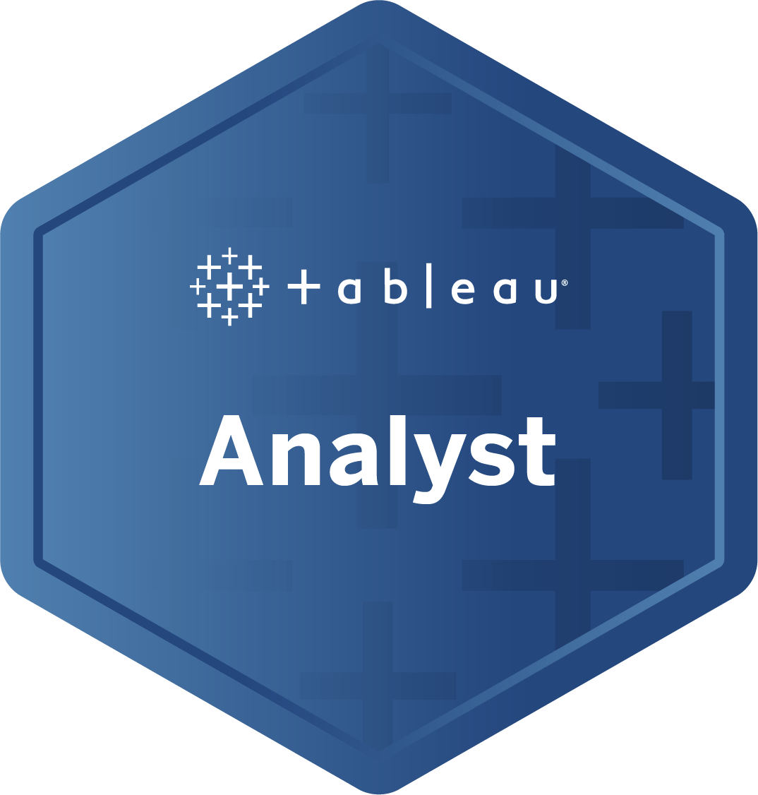 Analyst badge