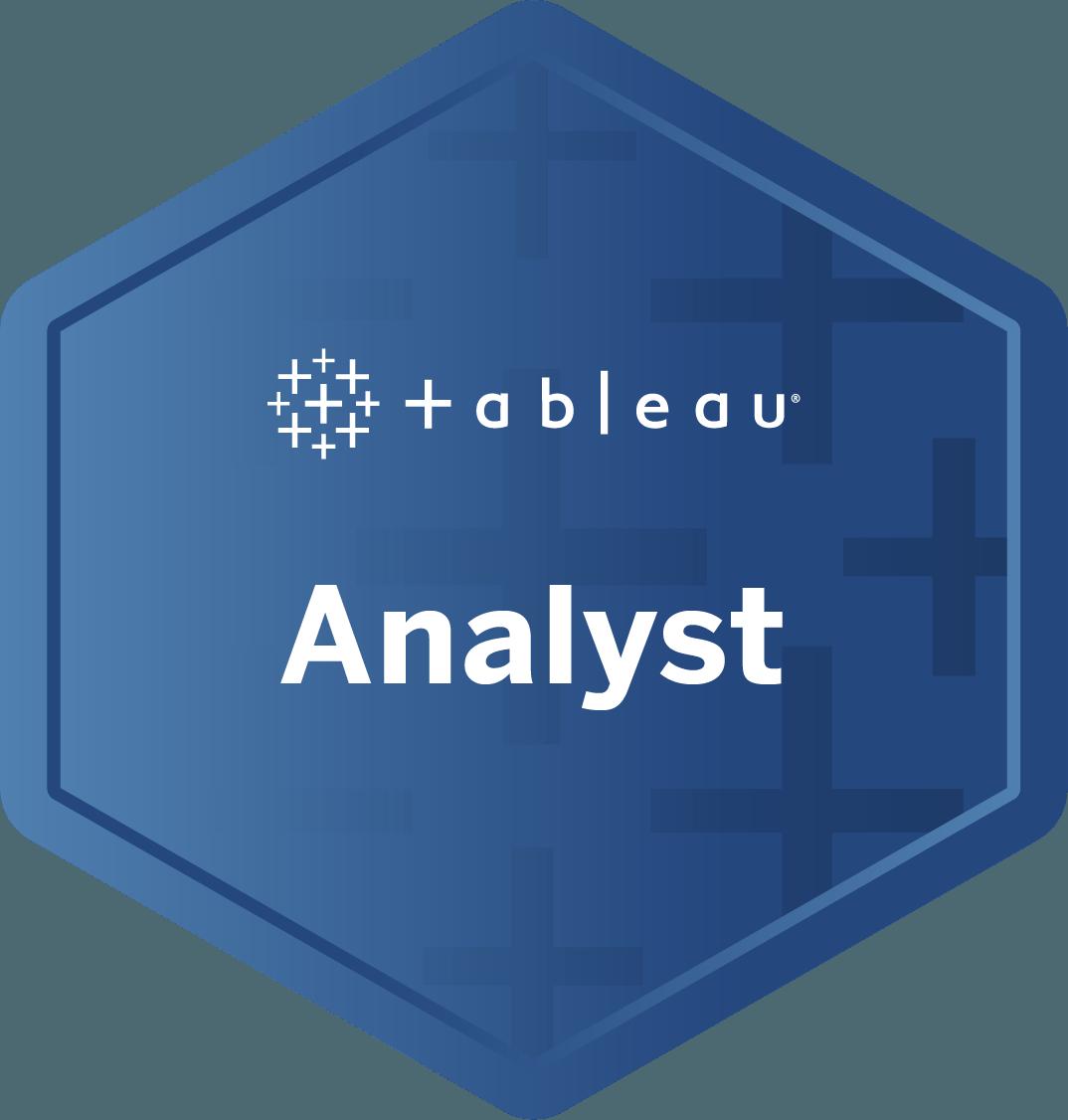 Analyst badge