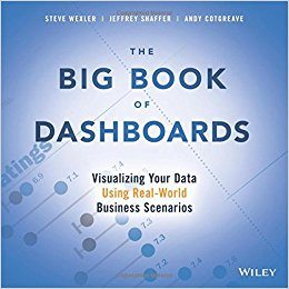 『The Big Book of Dashboards』 (ダッシュボード大全)、Steve Wexler、Jeffrey Shaffer、Andy Cotgreave 著