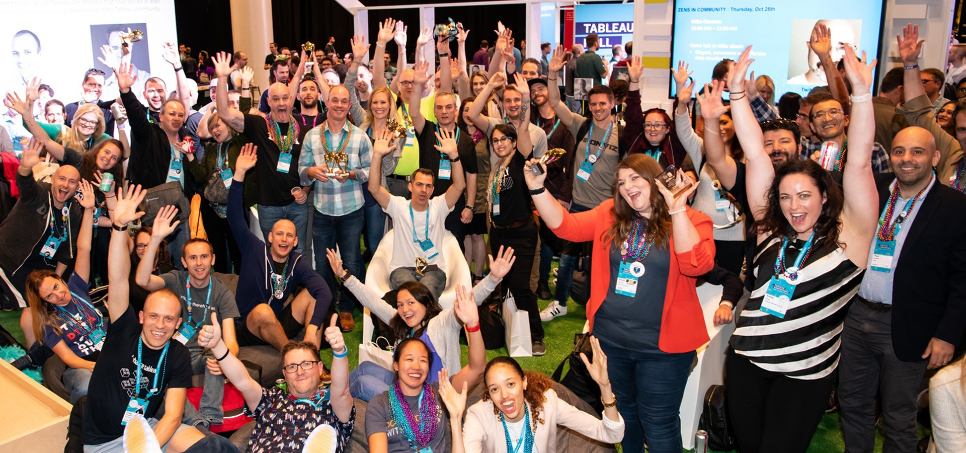 Members of the Tableau Community at Tableau Conference 2018