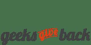 Geeks Give Back logo