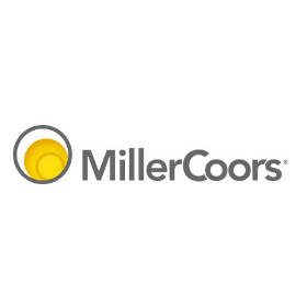 Miller-Coors logo, a Tableau customer