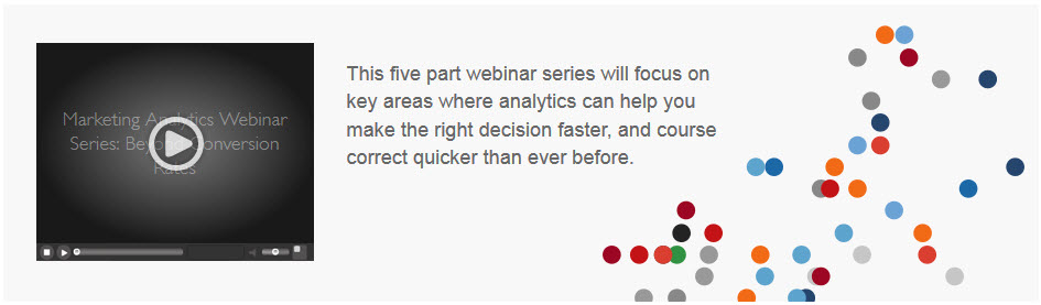 Marketing Analytics Webinar Series: Beyond Conversion Rates