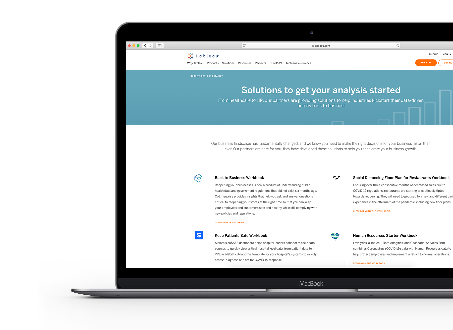 Partner Solutions Link