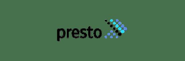 Logotipo de Presto