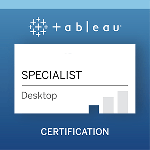 Desktop Specialist Certification badge
