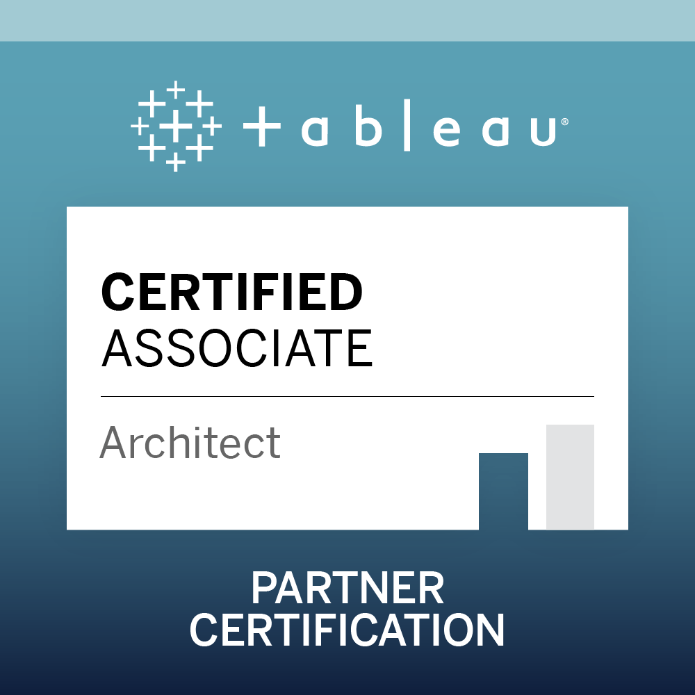 Tableau Certified Associate Architect