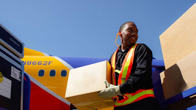 Southwest Airlines maintains on-time flights and optimizes