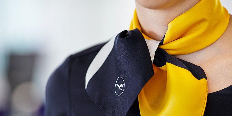 Lufthansa attire