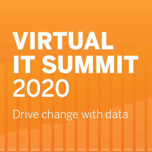 Virtual IT Summit 2020 | Drive change with data