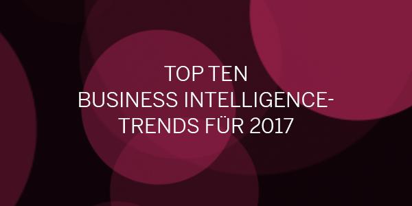 BI Trends 2017