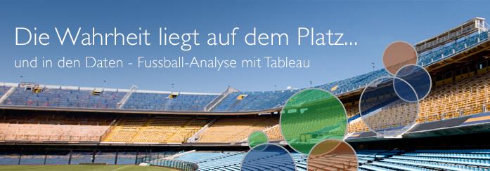 Fusball-Analyse mit Tableau