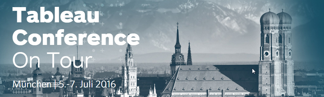 Tableau Conference 2016 in München